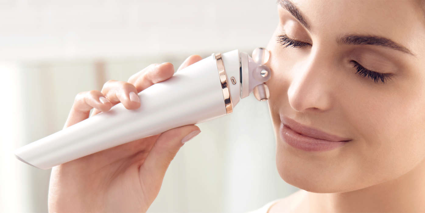 Skin as good as new: VisaPure Advanced by Philips