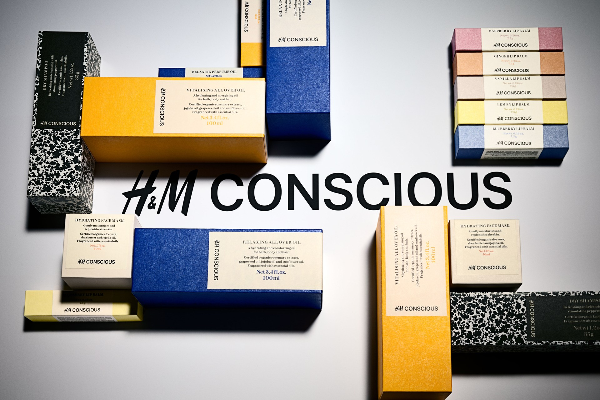 H&M Conscious Beauty Collection – In Shops since February